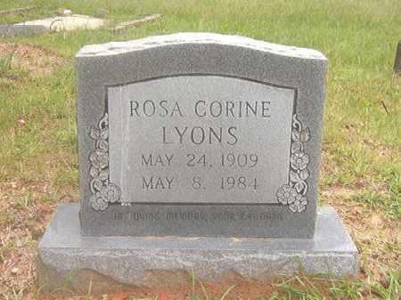 LYONS, ROSA CORINE - Calhoun County, Arkansas | ROSA CORINE LYONS - Arkansas Gravestone Photos
