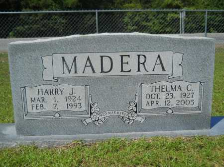 MADERA, HARRY J - Calhoun County, Arkansas | HARRY J MADERA - Arkansas Gravestone Photos