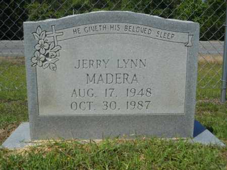 MADERA, JERRY LYNN - Calhoun County, Arkansas | JERRY LYNN MADERA - Arkansas Gravestone Photos