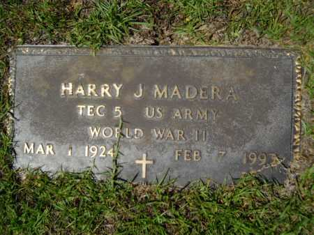 MADERA (VETERAN WWII), HARRY J - Calhoun County, Arkansas | HARRY J MADERA (VETERAN WWII) - Arkansas Gravestone Photos