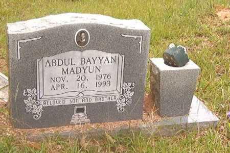 MADYUN, ABDUL BAYYAN - Calhoun County, Arkansas | ABDUL BAYYAN MADYUN - Arkansas Gravestone Photos