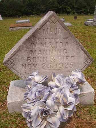 MANNING, MAUD - Calhoun County, Arkansas | MAUD MANNING - Arkansas Gravestone Photos