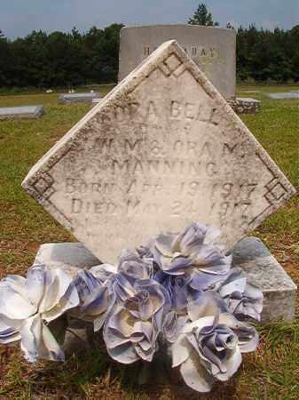 MANNING, ORA BELL - Calhoun County, Arkansas | ORA BELL MANNING - Arkansas Gravestone Photos