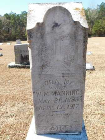MANNING, ORA M - Calhoun County, Arkansas | ORA M MANNING - Arkansas Gravestone Photos