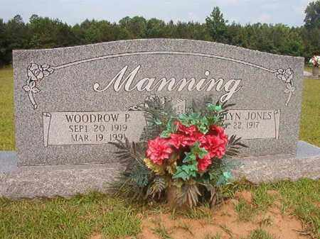 MANNING, WOODROW P - Calhoun County, Arkansas | WOODROW P MANNING - Arkansas Gravestone Photos