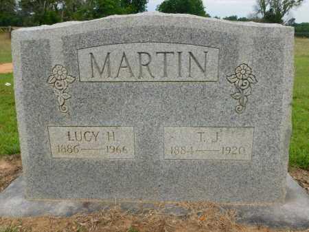 MARTIN, T J - Calhoun County, Arkansas | T J MARTIN - Arkansas Gravestone Photos