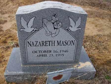 MASON, NAZARETH - Calhoun County, Arkansas | NAZARETH MASON - Arkansas Gravestone Photos