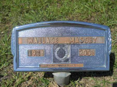 MASSEY, WALLACE - Calhoun County, Arkansas | WALLACE MASSEY - Arkansas Gravestone Photos
