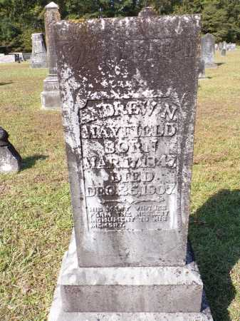 MAYFIELD, ANDREW N - Calhoun County, Arkansas | ANDREW N MAYFIELD - Arkansas Gravestone Photos