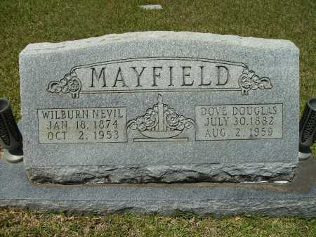 DOUGLAS MAYFIELD, DOVE - Calhoun County, Arkansas | DOVE DOUGLAS MAYFIELD - Arkansas Gravestone Photos