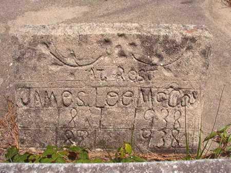 MCCOY, JAMES LEE - Calhoun County, Arkansas | JAMES LEE MCCOY - Arkansas Gravestone Photos