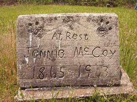 MCCOY, JENNIE - Calhoun County, Arkansas | JENNIE MCCOY - Arkansas Gravestone Photos