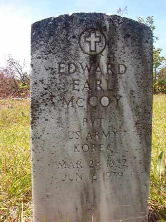 MCCOY (VETERAN KOR), EDWARD EARL - Calhoun County, Arkansas | EDWARD EARL MCCOY (VETERAN KOR) - Arkansas Gravestone Photos