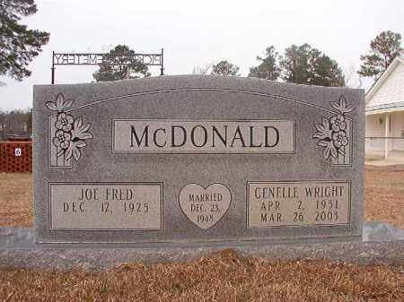 MCDONALD, GENELLE - Calhoun County, Arkansas | GENELLE MCDONALD - Arkansas Gravestone Photos