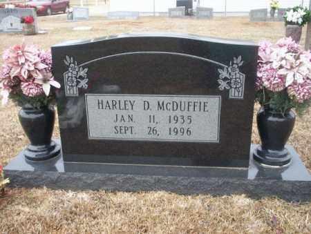 MCDUFFIE, HARLEY D - Calhoun County, Arkansas | HARLEY D MCDUFFIE - Arkansas Gravestone Photos