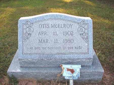 MCELROY, OTIS - Calhoun County, Arkansas   OTIS MCELROY - Arkansas Gravestone Photos
