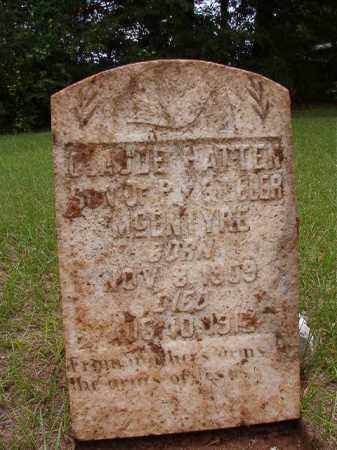 MCENTYRE, CLAUDE HATTEN - Calhoun County, Arkansas | CLAUDE HATTEN MCENTYRE - Arkansas Gravestone Photos