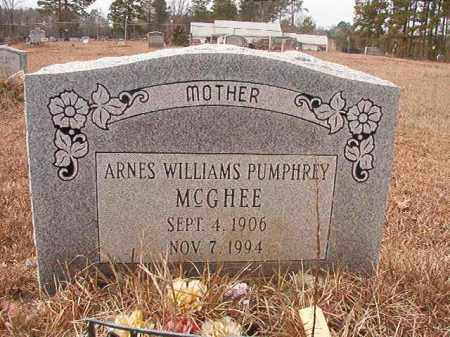 MCGHEE, ARNES - Calhoun County, Arkansas | ARNES MCGHEE - Arkansas Gravestone Photos