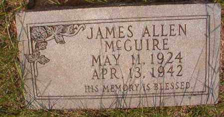 MCGUIRE, JAMES ALLEN - Calhoun County, Arkansas | JAMES ALLEN MCGUIRE - Arkansas Gravestone Photos