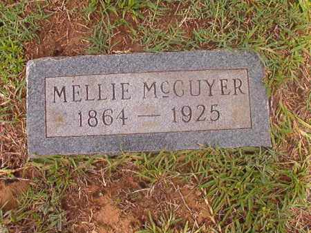 MCGUYER, MELLIE - Calhoun County, Arkansas | MELLIE MCGUYER - Arkansas Gravestone Photos