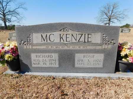 MCKENZIE, ROSIE - Calhoun County, Arkansas | ROSIE MCKENZIE - Arkansas Gravestone Photos