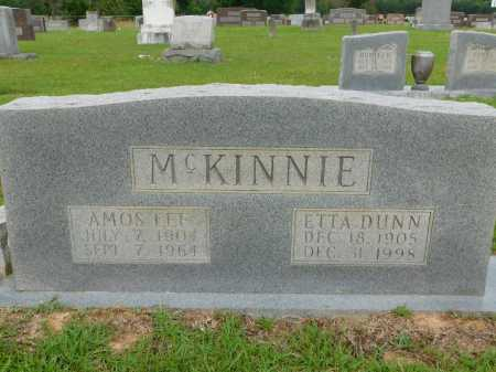 MCKINNIE, AMOS LEE - Calhoun County, Arkansas | AMOS LEE MCKINNIE - Arkansas Gravestone Photos