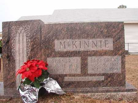 MCKINNIE, TURNER L - Calhoun County, Arkansas | TURNER L MCKINNIE - Arkansas Gravestone Photos