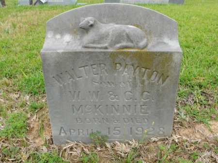 MCKINNIE, WALTER PAYTON - Calhoun County, Arkansas | WALTER PAYTON MCKINNIE - Arkansas Gravestone Photos
