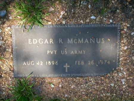 MCMANUS  (VETERAN), EDGAR R - Calhoun County, Arkansas | EDGAR R MCMANUS  (VETERAN) - Arkansas Gravestone Photos