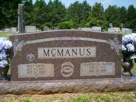 MCMANUS, BILLY SMITH - Calhoun County, Arkansas | BILLY SMITH MCMANUS - Arkansas Gravestone Photos