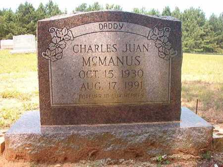 MCMANUS, CHARLES JUAN - Calhoun County, Arkansas | CHARLES JUAN MCMANUS - Arkansas Gravestone Photos