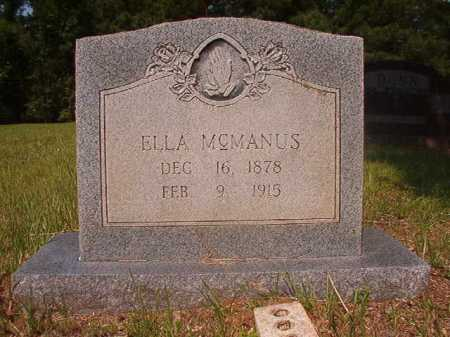 MCMANUS, ELLA - Calhoun County, Arkansas | ELLA MCMANUS - Arkansas Gravestone Photos