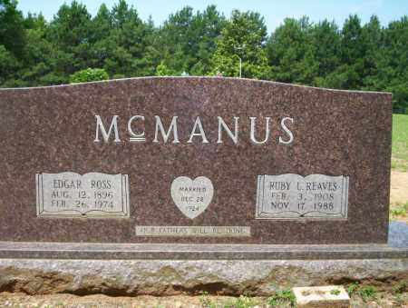 MCMANUS, EDGAR ROSS - Calhoun County, Arkansas | EDGAR ROSS MCMANUS - Arkansas Gravestone Photos