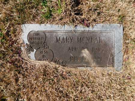 MCNEAL, MARY - Calhoun County, Arkansas | MARY MCNEAL - Arkansas Gravestone Photos