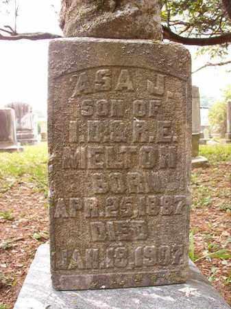 MELTON, ASA J - Calhoun County, Arkansas | ASA J MELTON - Arkansas Gravestone Photos