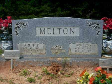 "MELTON, W.M. ""BILL"" - Calhoun County, Arkansas 
