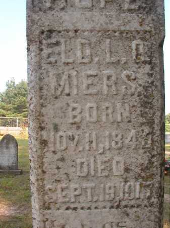 MIERS, L O - Calhoun County, Arkansas | L O MIERS - Arkansas Gravestone Photos