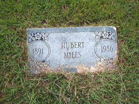 MILES, HUBERT - Calhoun County, Arkansas | HUBERT MILES - Arkansas Gravestone Photos