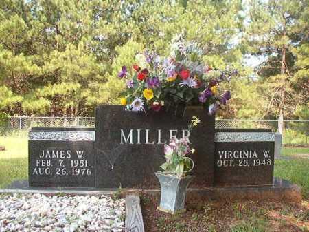 MILLER, JAMES W - Calhoun County, Arkansas | JAMES W MILLER - Arkansas Gravestone Photos