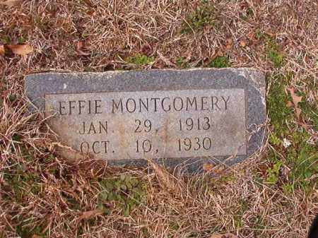 MONTGOMERY, EFFIE - Calhoun County, Arkansas | EFFIE MONTGOMERY - Arkansas Gravestone Photos