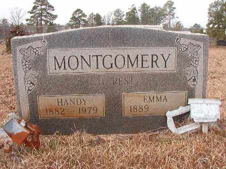 MONTGOMERY, HANDY - Calhoun County, Arkansas | HANDY MONTGOMERY - Arkansas Gravestone Photos