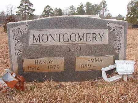 MONTGOMERY, EMMA - Calhoun County, Arkansas | EMMA MONTGOMERY - Arkansas Gravestone Photos