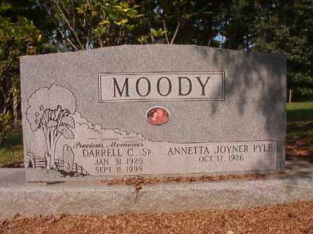 MOODY, SR, DARRELL C - Calhoun County, Arkansas | DARRELL C MOODY, SR - Arkansas Gravestone Photos