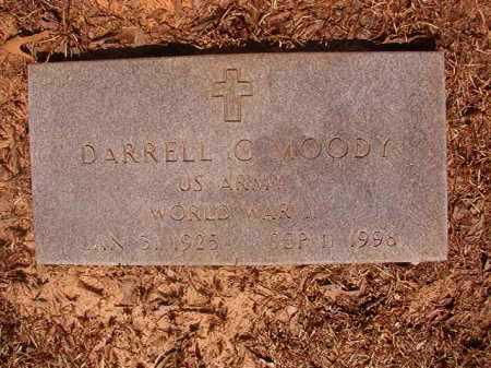 MOODY (VETERAN WWII), DARRELL C - Calhoun County, Arkansas | DARRELL C MOODY (VETERAN WWII) - Arkansas Gravestone Photos