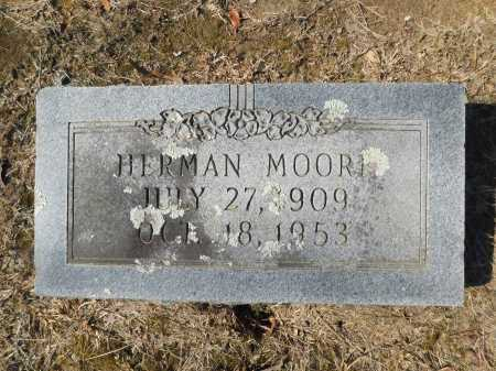 MOORE, HERMAN - Calhoun County, Arkansas | HERMAN MOORE - Arkansas Gravestone Photos