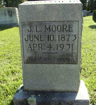 MOORE, J L - Calhoun County, Arkansas | J L MOORE - Arkansas Gravestone Photos