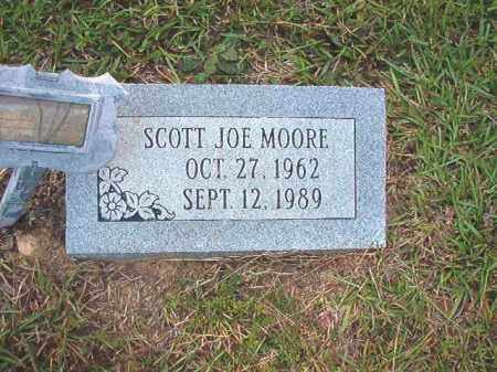 MOORE, SCOTT JOE - Calhoun County, Arkansas | SCOTT JOE MOORE - Arkansas Gravestone Photos