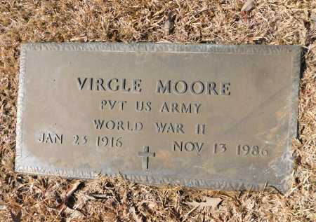 MOORE (VETERAN WWII), VIRGLE - Calhoun County, Arkansas | VIRGLE MOORE (VETERAN WWII) - Arkansas Gravestone Photos