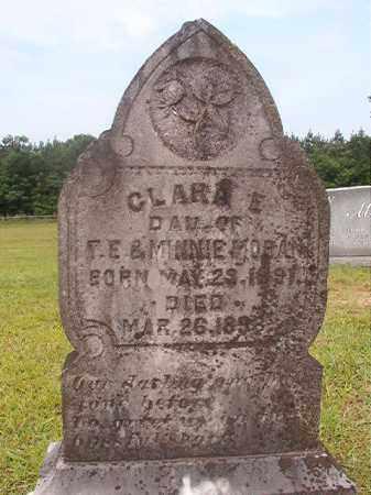 MORAN, CLARA E - Calhoun County, Arkansas | CLARA E MORAN - Arkansas Gravestone Photos