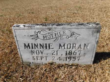 MORAN, MINNIE - Calhoun County, Arkansas | MINNIE MORAN - Arkansas Gravestone Photos